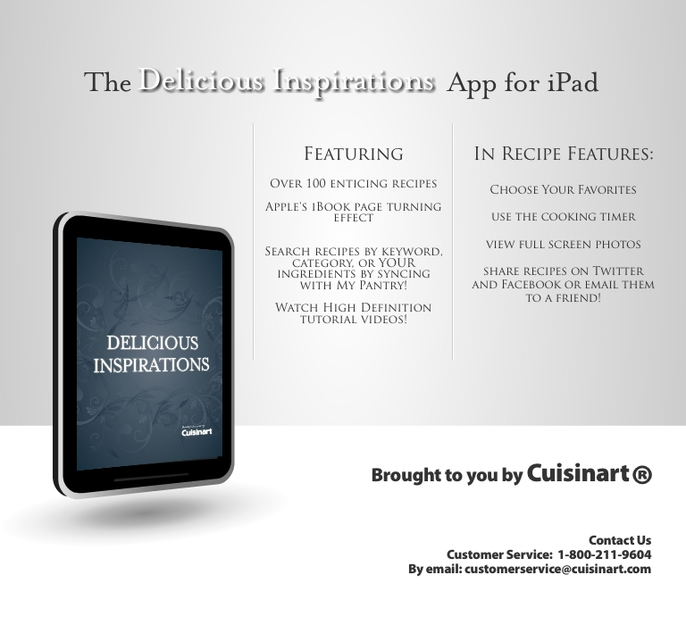 Please contact Cuisinart customer service at cuisinart.com
